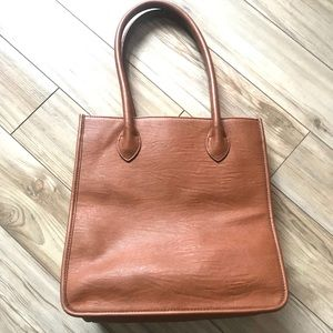 J. Crew Faux Leather Tote